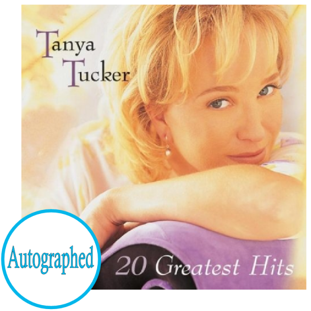 Tanya Tucker AUTOGRAPHED CD- 20 Greatest Hits