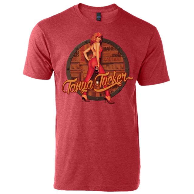 Tanya Tucker Heather Red Tee