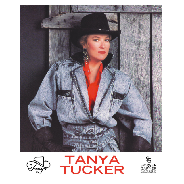 Tanya Tucker Denim Jacket 8x10